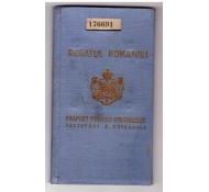 PASAPORT-CAROL-II-REGATUL ROMANIEI-PASAPORT PENTRU STRAINATATE