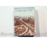 CALENDAR ROMANIA 1987
