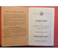 PASAPORT  PERIOADA CAROL-I-1913