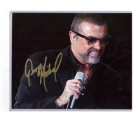 AUTOGRAF REAL GEORGE MICHAEL