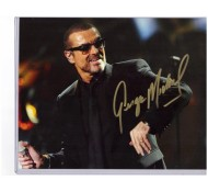 AUTOGRAF ORIGINAL GEORGE MICHAEL