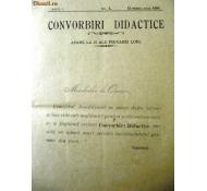 1895-CONVORBIRI DIDACTICE